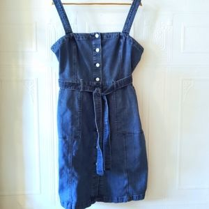GAP Denim Button Front Dress